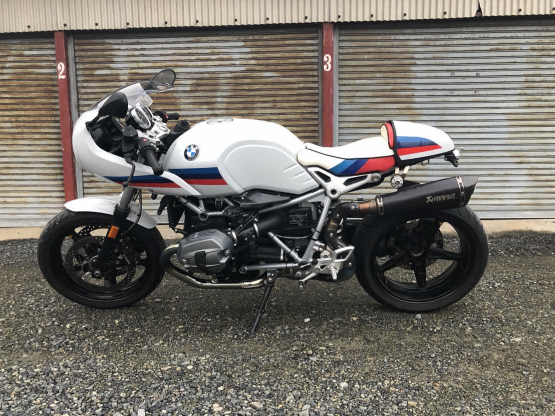 BMW RnineT-Racer シート張替え
