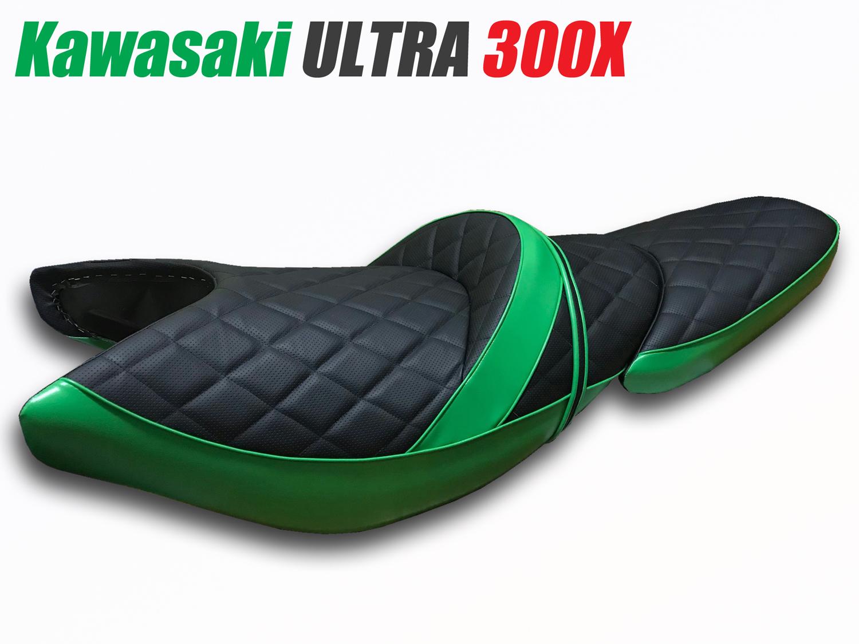 カワサキ ウルトラ300X シート張替え