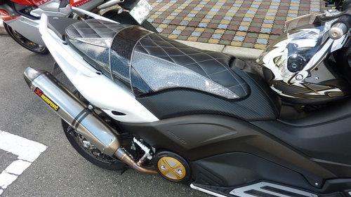 T-MAX 530 シート張替え 投稿画像