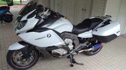 BMW K1600GT 足つき性アップ シート張替え