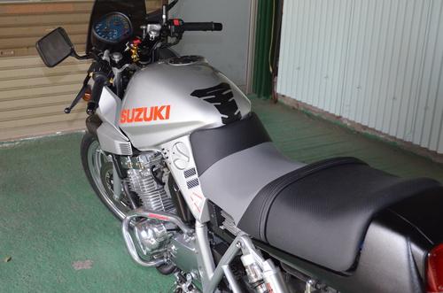 SUZUKI カタナ シート張替え 投稿画像