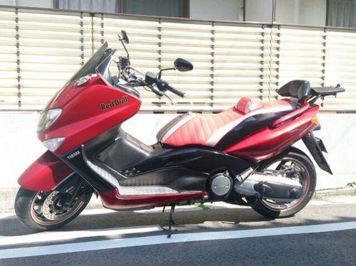 T-MAX500 シート張替え 装着画像