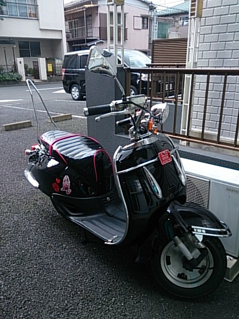 ジョーカー90 シート張替え 装着画像