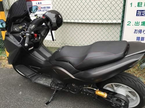 T-MAX530 シート張替え 装着画像