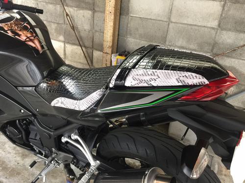 Kawasaki Ninja250 カワサキ ニンジャ250 シート張替え