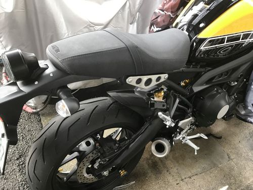 XSR900 低反発加工のシート