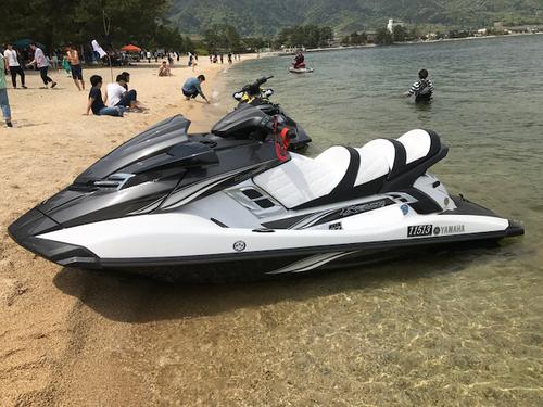 YAMAHA MJ-FX cruiser HO シート張替え
