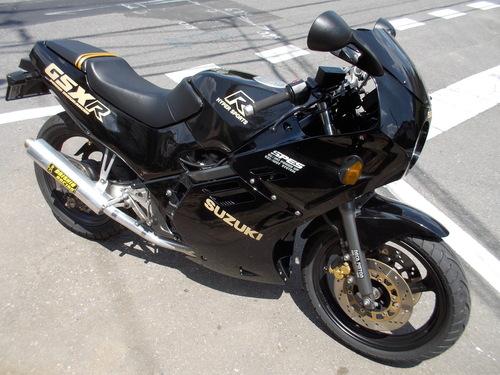 SUZUKI GSX-R250 シート張替え