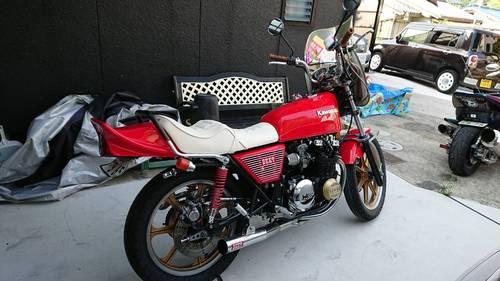 カワサキZ400FX シート張替え